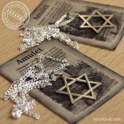 Lacný židovský prívesok.