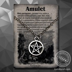 Lacný prívesok pentagram aj s retiazkou za menej ako 5 EUR a doručenie zdarma.