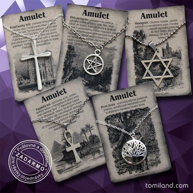Lacné ochranné amulety na predaj.