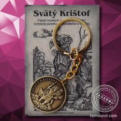 Kľúčenka svätého Krištofa za cenu len 6,95 EUR s doručením zadarmo.
