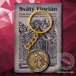 Kľúčenka svätého Floriána.