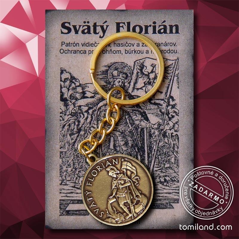 Kľúčenka svätého Floriána 6 4eb2b02e7af