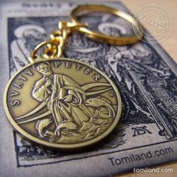 Prívesok na kľúče s obrázkom apoštola sv. Petra.