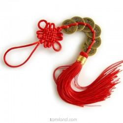 Čínsky talizman feng-shui pre šťastie, peniaze a bohatstvo.