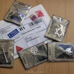 Lacné amulety na predaj, ktoré vedia pomôcť a ochrániť.