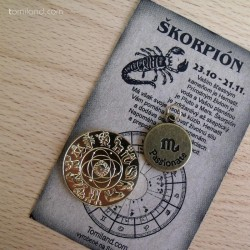 Lacný malý darček pre Škorpióna.